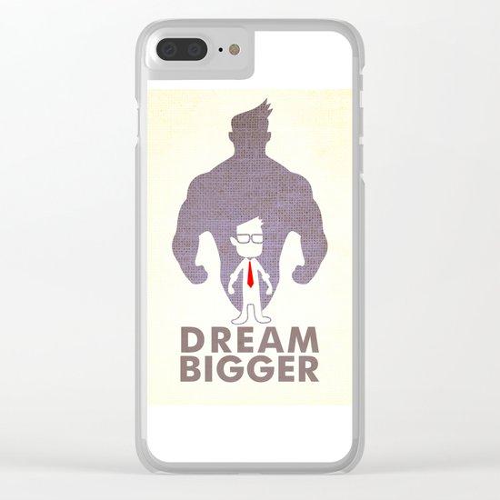 dream bigger Clear iPhone Case
