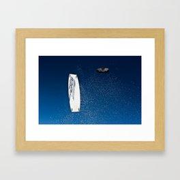 Guillaume Kiteboarding St Brevin - kite - kitesurf Framed Art Print