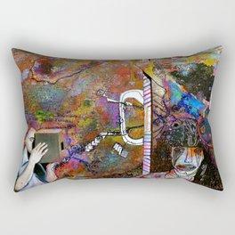 Evaporating on the Edges Rectangular Pillow