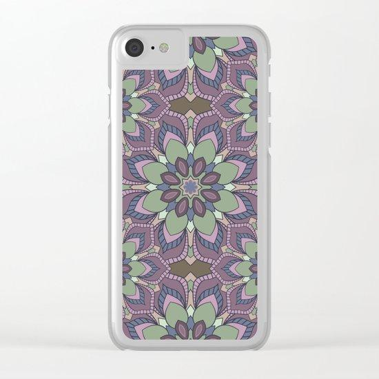 Mandala 41 Clear iPhone Case