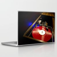 vinyl Laptop & iPad Skins featuring Vinyl by carcar2110
