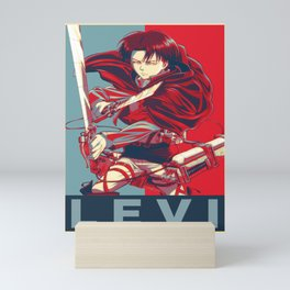 Levi Ackerman | Shingeki No Kyojin | Attack on Titan Mini Art Print