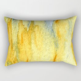 Earth toned abstract Rectangular Pillow