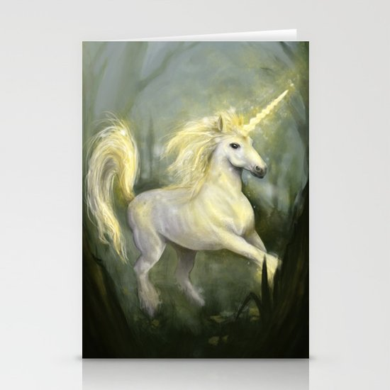 Unicorn Stationery Cards