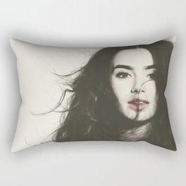 don't hate me cause i'm beautiful Rectangular Pillow