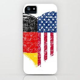 Immigrant America Dual Citizenship Dual Citizen Immigrant iPhone Case