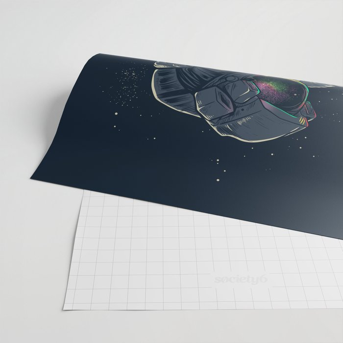 Jellyspace Wrapping Paper