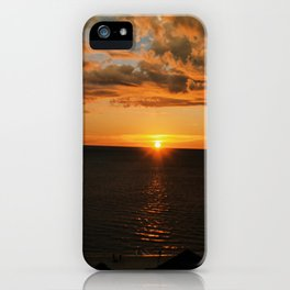 Sun on the skyline iPhone Case