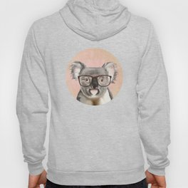 Funny koala with glasses Hoody