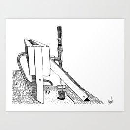 On Tap Art Print