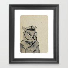 The High Flying Sailor Framed Art Print
