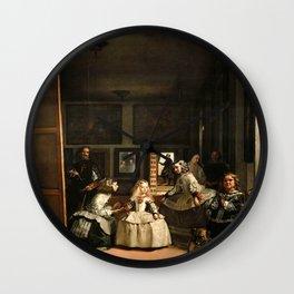 Diego Velazquez - Las Meninas Wall Clock