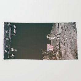 Moon Landing - Stanley Kubrick outtakes Beach Towel