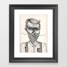 Mister Sir Framed Art Print
