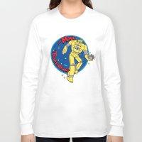 transformer Long Sleeve T-shirts featuring The Magic Transformer by Skylar Hogan