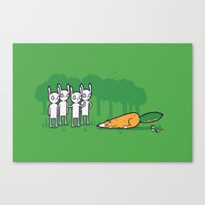 Carrot imposter Canvas Print