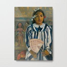 The Ancestors of Tehamana Metal Print