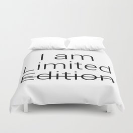 I am Limited Edition Duvet Cover