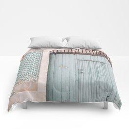 The mint door Comforters