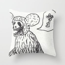Not In My Lifetime Throw Pillow