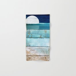 Beach Moonrise Hand & Bath Towel