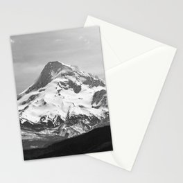 Black and White Mountain Adventure - 85/365 Nature Photography Stationery Cards