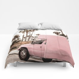 Blush Tropical Venice Comforters