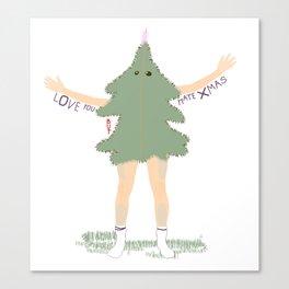Xmas Tree Guy (Nils) Canvas Print