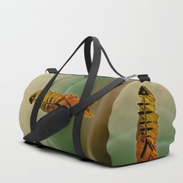 Atlante / ORANGE in BLUE Duffle Bag