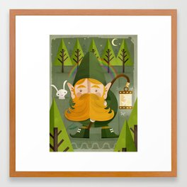 The elf Framed Art Print