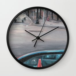 Driver's Side Mirror Wall Clock