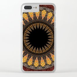 Some Other Mandala 237 Clear iPhone Case