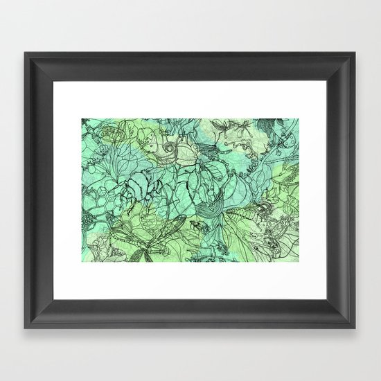 Insects Framed Art Print