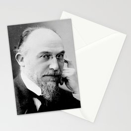 Henri Manuel -Portrait of Erik Satie Stationery Cards