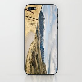 The Road to Snowy Mountains iPhone Skin