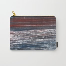 Striped abstract Carry-All Pouch