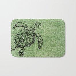 Green Turtle Bath Mat