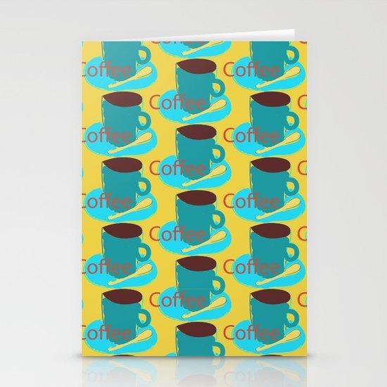 I love coffee! Stationery Cards