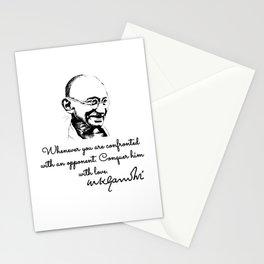 Mahatma Gandhi - victory Stationery Cards