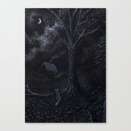 Midnight Vixen Canvas Print