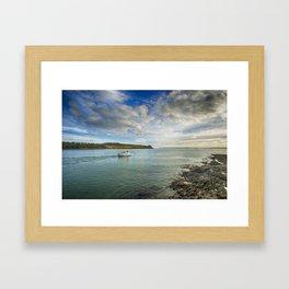 St Mawes Ferry Duchess of Cornwall Framed Art Print