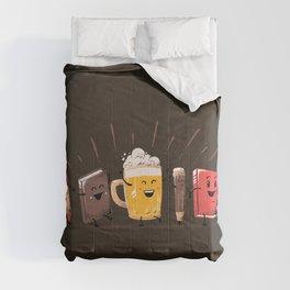 Back To School Beer Comforters