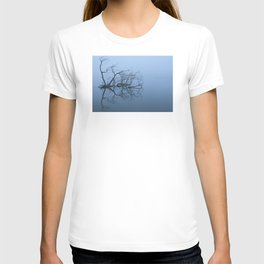 Branches In A Misty Lake T-shirt