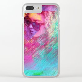 Lost In The Matrix Clear iPhone Case