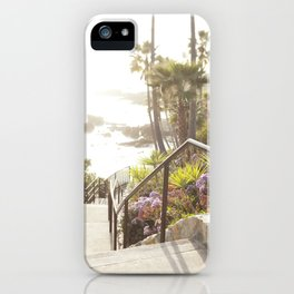 Laguna Beach, California  //  Travel the World iPhone Case