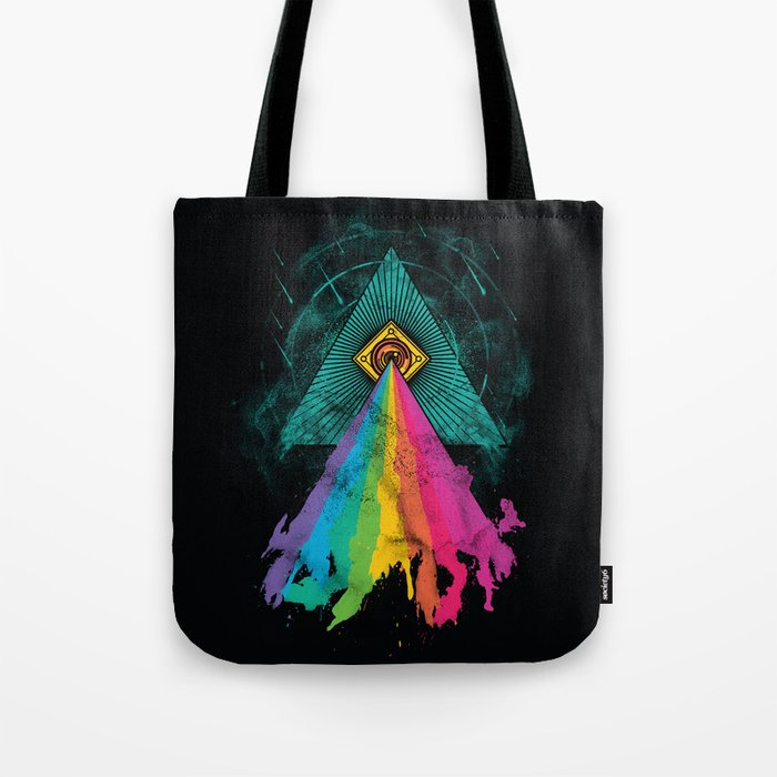 Eye of Prism Tote Bag
