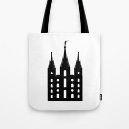 Mormon Style Temple Tote Bag
