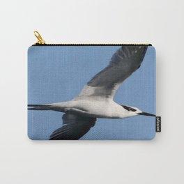 Sandwich Tern In Flight Vector Carry-All Pouch