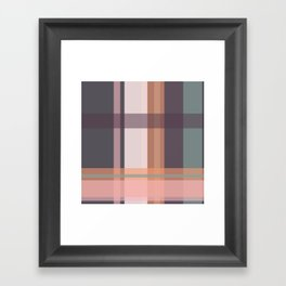 Check Framed Art Print