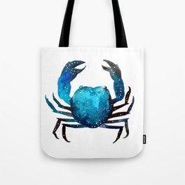 Cerulean blue Crustacean Tote Bag